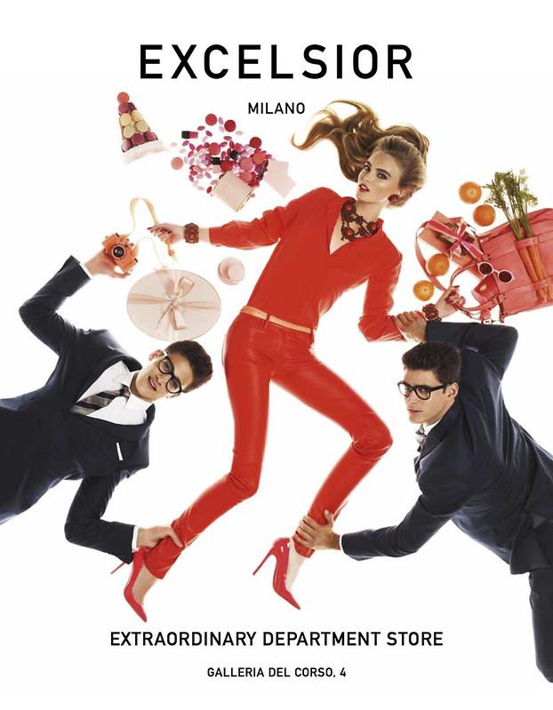 Excelsior Milano - campagna ADV 2012