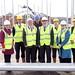 Social Development Minister has visited the former army base at Ebrington, 4 October 2012