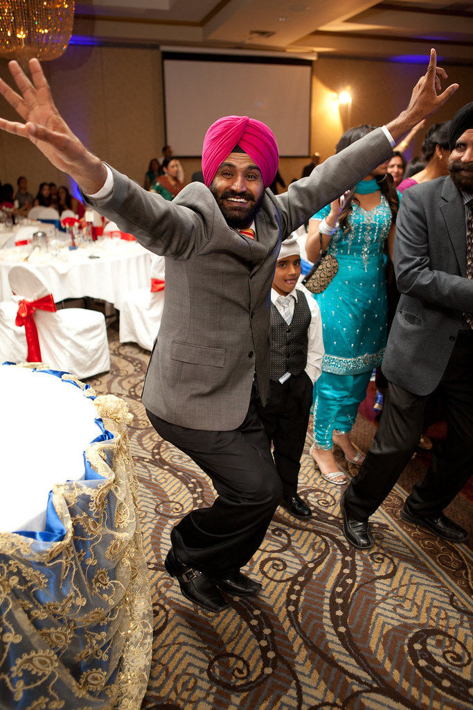 Svina and Harinder Reception