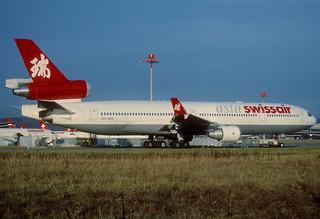 163aq - Swissair Asia MD-11; HB-IWG@ZRH;30.01.2002