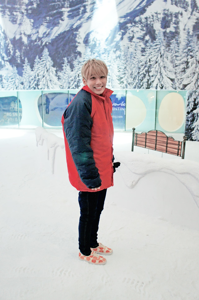 typicalben in snow world genting