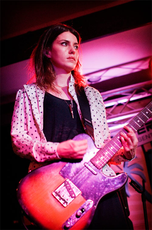 Laura-Mary Carter of Blood Red Shoes