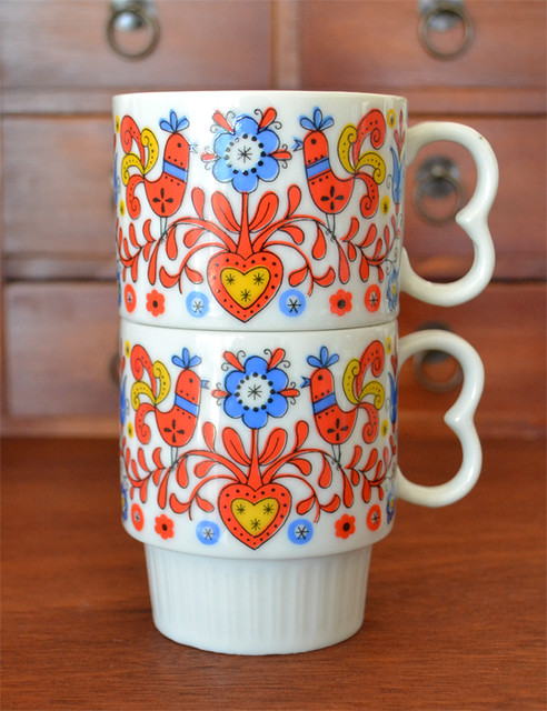 My New Vintage Mugs