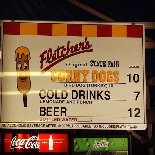 Texas State Fair Fletcher's Corny Dogs