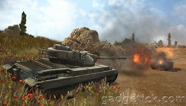 World of Tanks 0.8.0