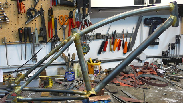 Finished frame