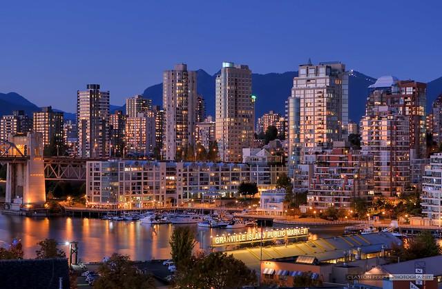Vancouver's Autumn Skyline