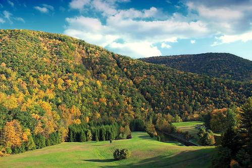 [フリー画像素材] 自然風景, 山, 紅葉・黄葉, 風景 - アメリカ合衆国 ID:201210121200