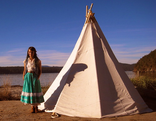 No. You're a tipi