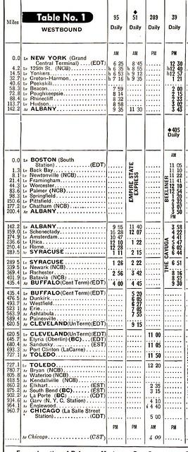 NYC LSL Schedule