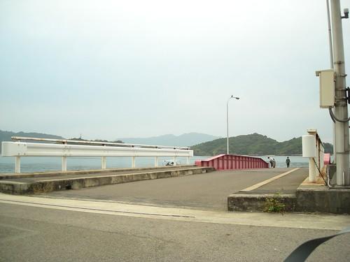 尾道行き渡し船桟橋