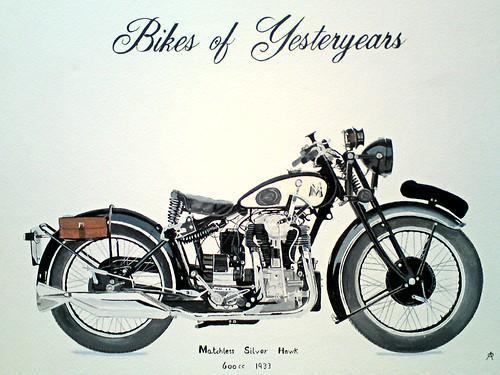 matchless silver hawk 600cc