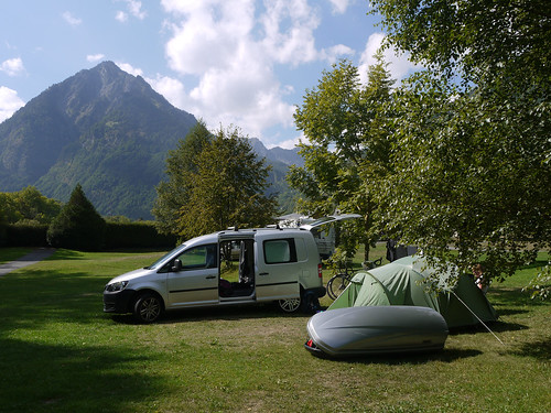 Campsite at Cauterets