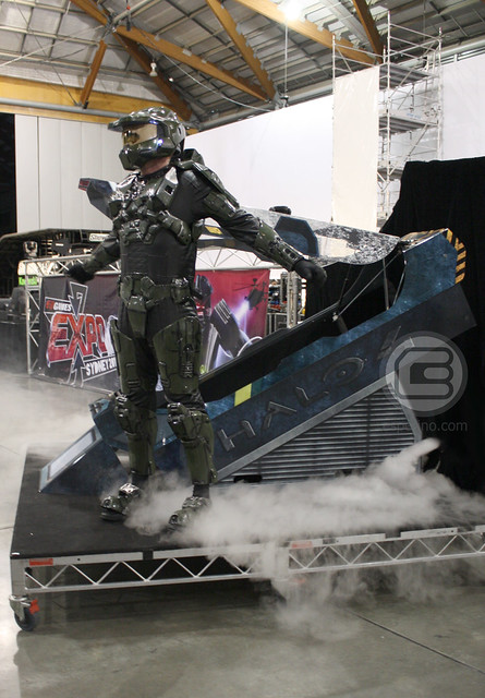 EB Expo 2012: Master Chief Awakens From Cryogenic Chamber