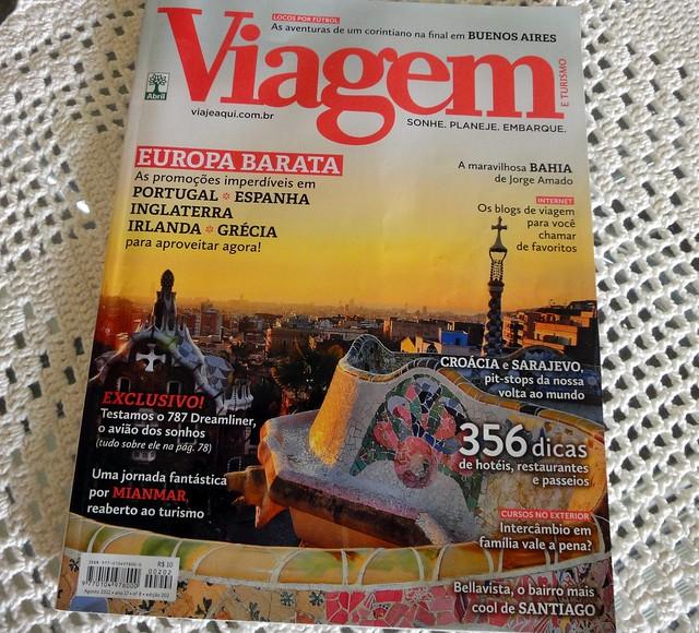 Revista Viagem e Turismo - Turomaquia