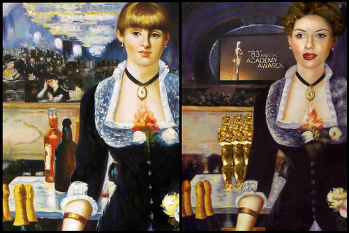 Scarlett Johansson by Manet Before and After