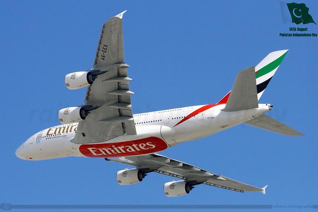 Emirates - Airbus 380-861 - A6-EEX