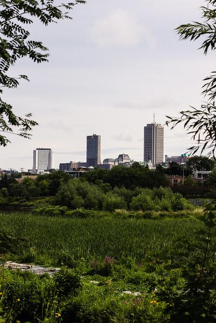 Le gros centre-ville