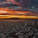 Sunset Burn over San Francisco by derwiki