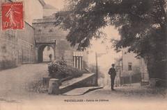 Montbéliard - Entrée du Château (c.1907)