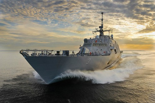 POINT MUGU RANGE, Calif - The Littoral Combat Ship (LCS) Surface Warfare Mission Package successfully completed the second phase of its developmental testing, the Naval Sea Systems Command announced.