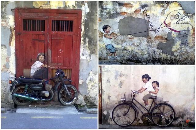 Penang street art (i)