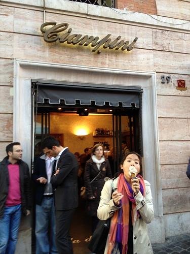 Ciampini Gelato Rome