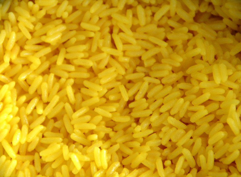Rice with Safran