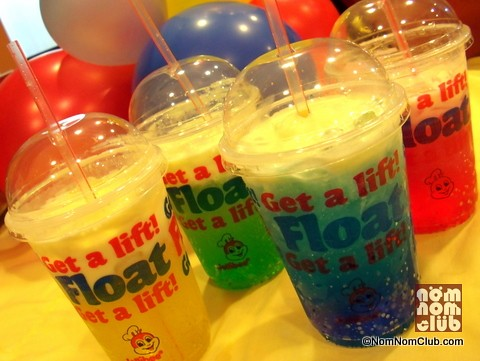 Jollibee University Floats