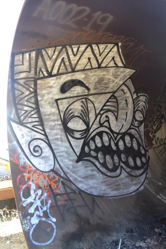 PHINCHER, The yard, Oakland, Graffiti