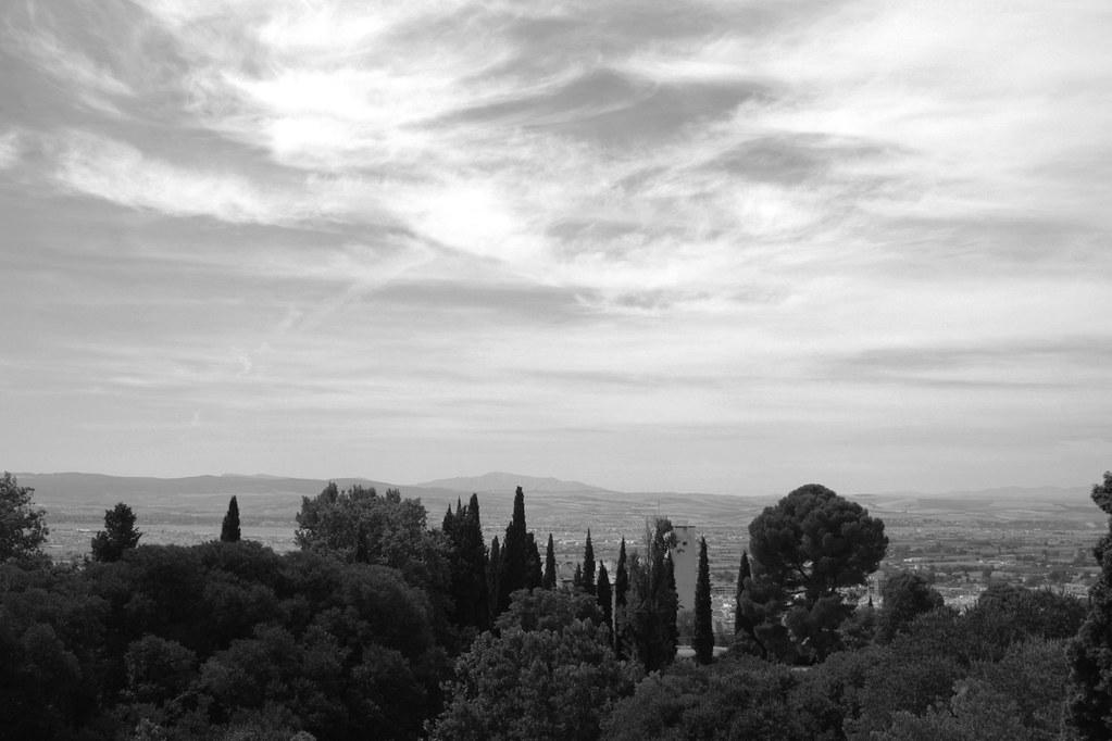 landscape of granada