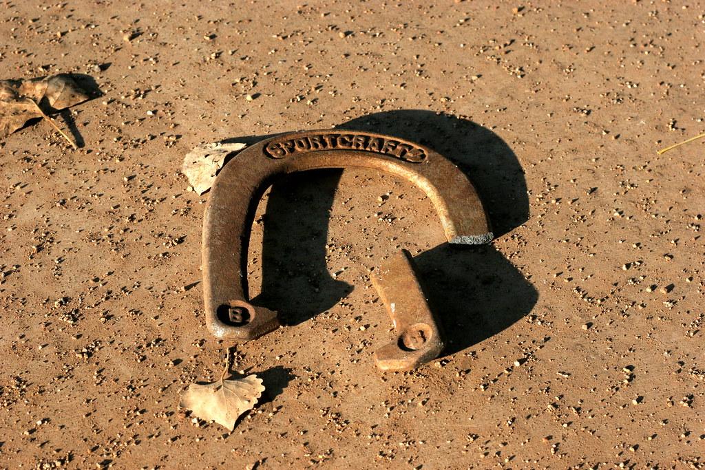 broken horseshoe