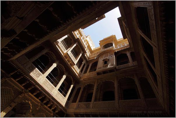 courtyard, jaisalmer