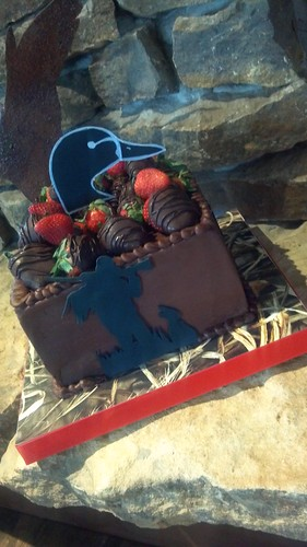 Ducks Unlimited cake