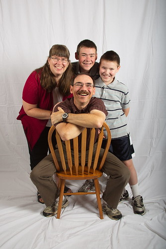 Family portrait by The Bacher Family