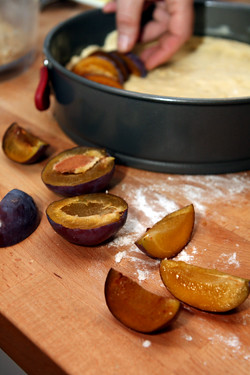 Yeasted Plum Tart - David Lebovitz