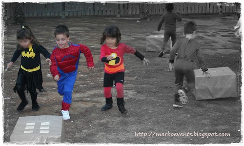 Actividades 3Kit de fiesta spiderman. Merbo events