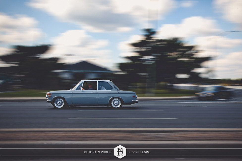 blue bmw 2002 bbs rs at h2oi 2012 3pc wheels static airride low slammed coilovers stance stanced hellaflush poke tuck negative postive camber fitment fitted tire stretch laid out hard parked seen on klutch republik