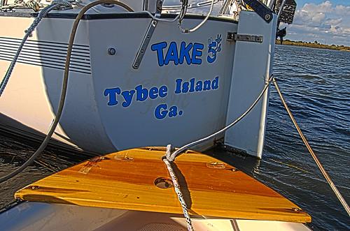 S/V Take Five's New Logo