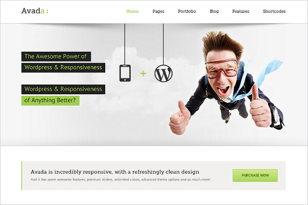 Avada Multipurpose Responsive WordPress Theme