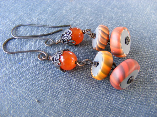 Gypsy Trade Bead Earrings by Jennifer Justman