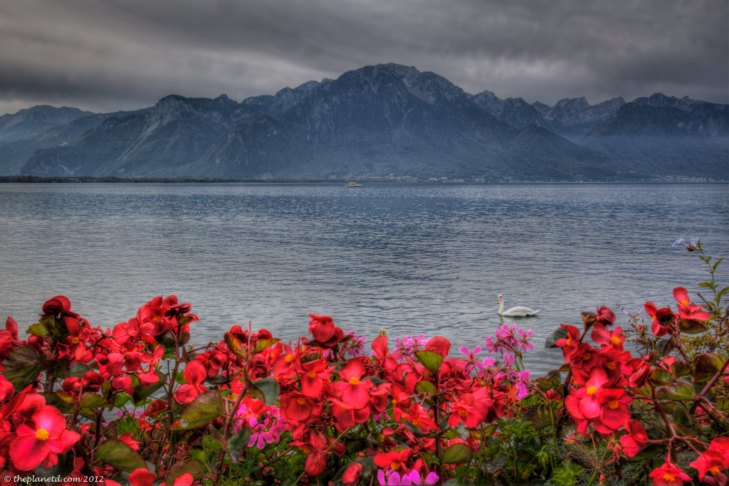 montreux waterfront
