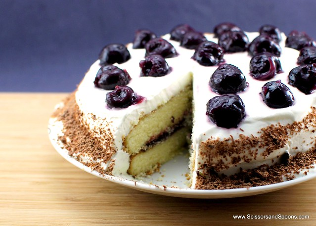 Black Forest Whipped Cream Cake