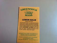 Lemon Balm seeds