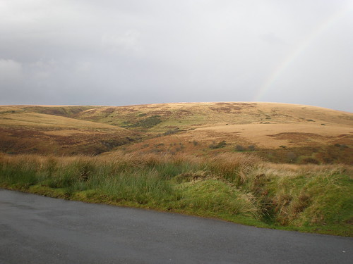 View of Exmoor Rainbow