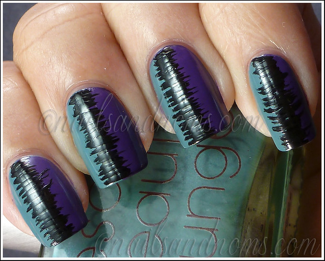 31DC2012 Day 6 Violet Nails - 9 (no tc)