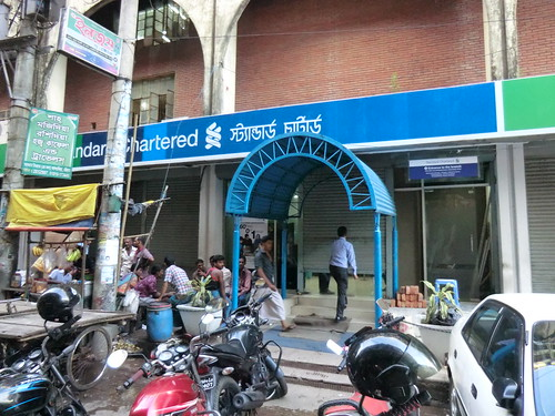 Standard Chartered Bank @Chittagon in Bangladesh