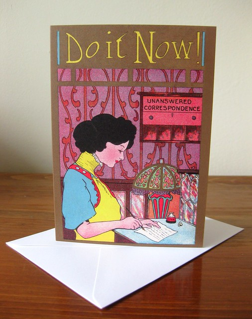 Notecards: Unanswered Correspondence - Do It Now!