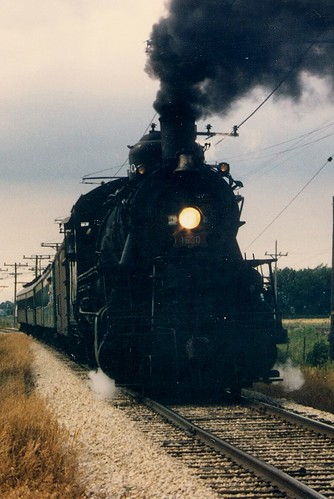 The Illinois Railway Museum.  Union Illinois.  July 1988. by Eddie from Chicago