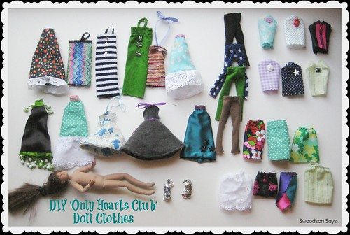 DIY Only Hearts Club Doll Clothes